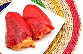 pic of piquillo pepper  - Piquillo peppers stuffed with cod b - JPG