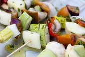 Vegetables Brochette