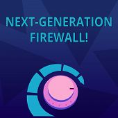 Word Writing Text Next Generation Firewall. Business Concept For Combining Firewall With Other Netwo poster