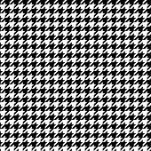 Black And White Pattern Houndstooth Seamless Pattern Black And White poster