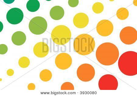 Swirl Halftone Background