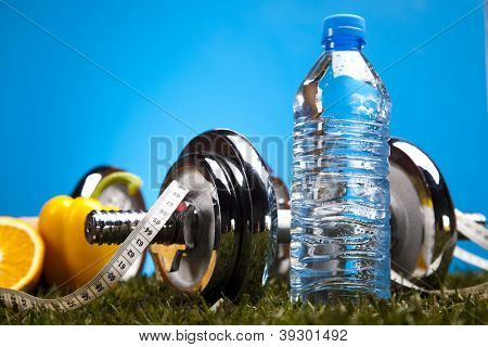 Bottle water and Fitness
