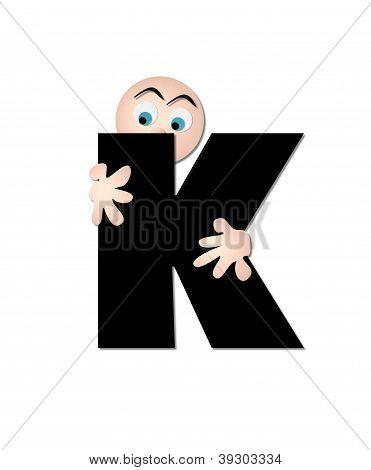 Alphabet Fear K