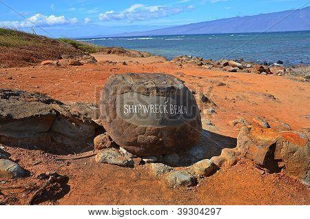 Entrance to Shipwreck Beach