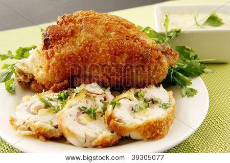 Stuffed Fried Chicken