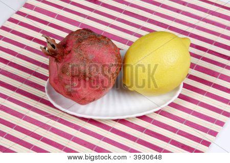 Pomegranate And Lemon