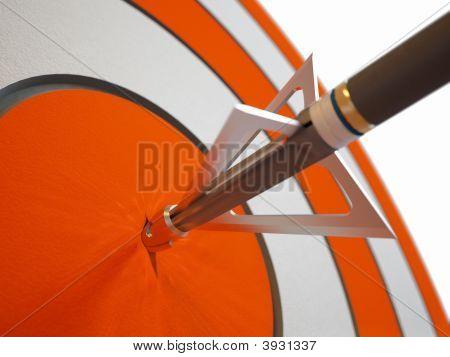 Arrow Breaking Target