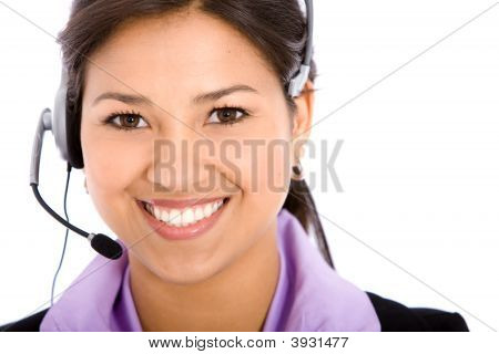 Business Woman - Helpdesk