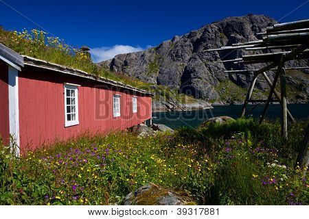 Norwegian Rorbu Fishing Hut