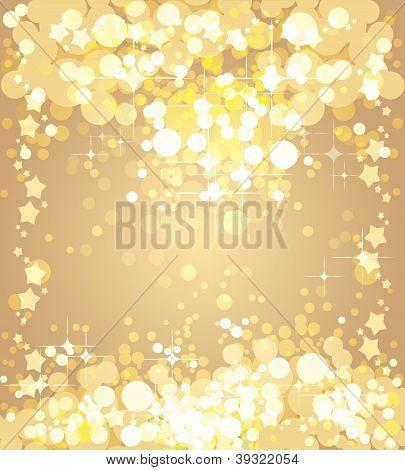 Navidad fondo de oro