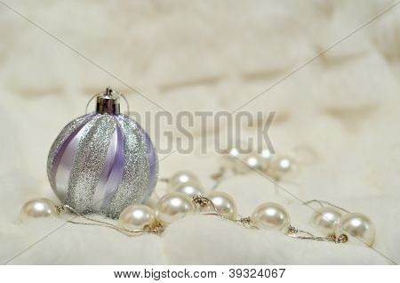 Christmas Decorations With Space For Text Writing