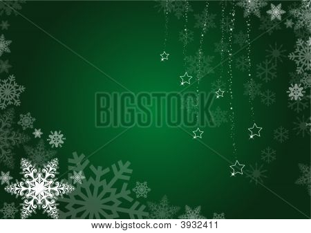 Green Winter Background