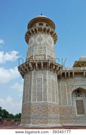 Minaret Of Baby Taj