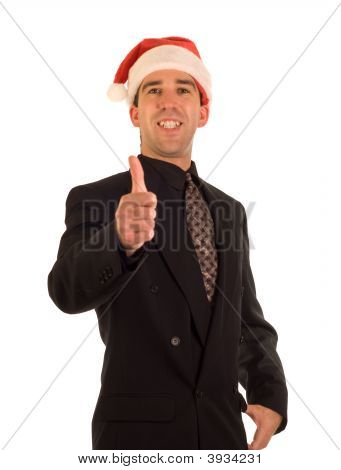 Christmas Businessman