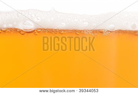 Beer With Foam