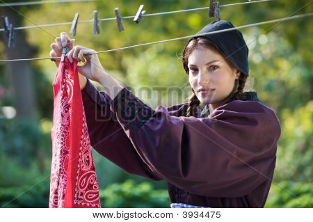Hanging The Laundry
