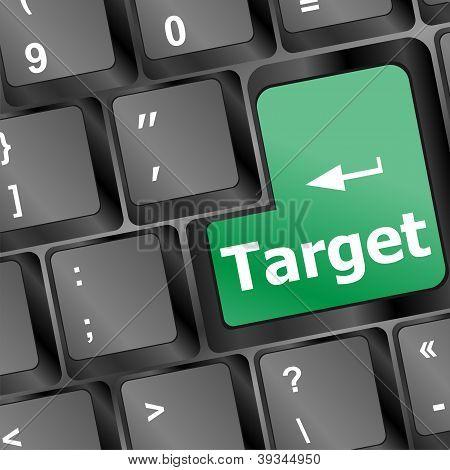 Target Button On Keyboard