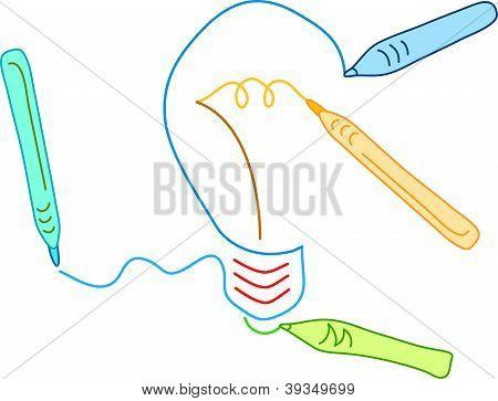 drawing a bulb