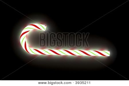 Glowing Candy Cane