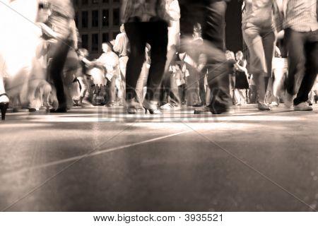 Movimiento de piso de baile