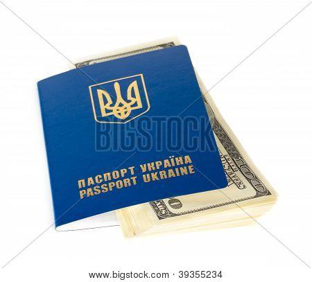 Ukrainian Foreign Passports And Dollars