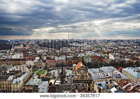 Panorama Of Lviv City