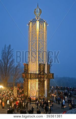 Kiev, Ukraine - Nov 24: 79Th Anniversary Of Holodomor Marks In Kiev, Ukraine On November 24, 2012