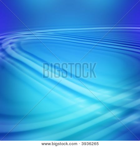 Blue Diagonal Waves