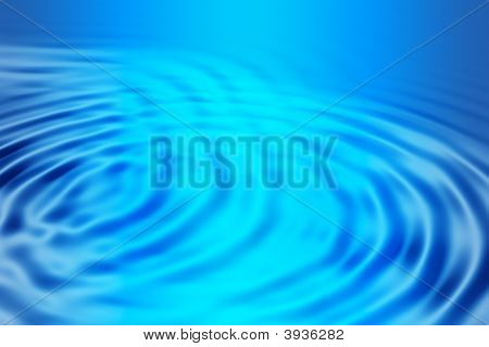 Blue Glowing Ripples