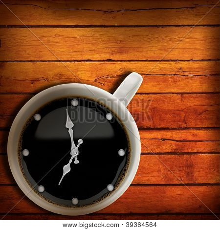 Coffee Time. Abstract Backgrounds For Your Design