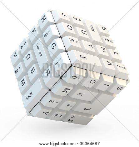 Tastatur-cube
