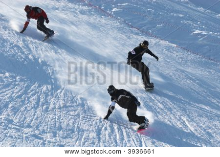 Extreme Snowboarding Race