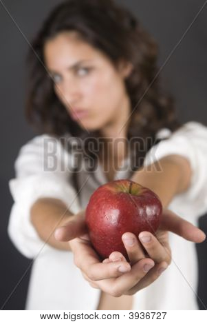 Woman With Apple Temptation
