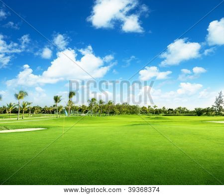 golfe na República Dominicana