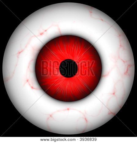 Creepy Halloween Eye