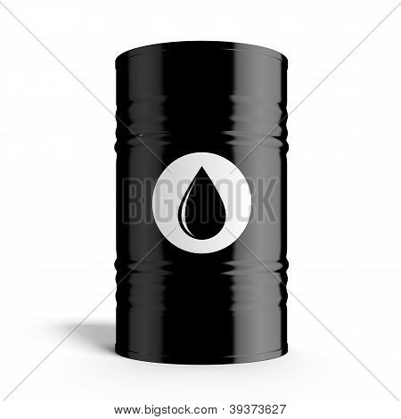 Black oil barrel
