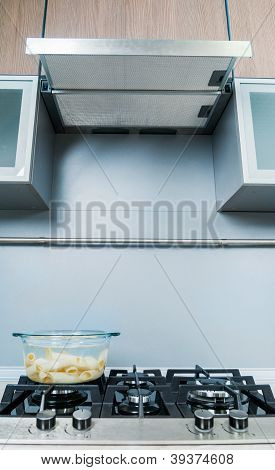 detail in a modern kitchen