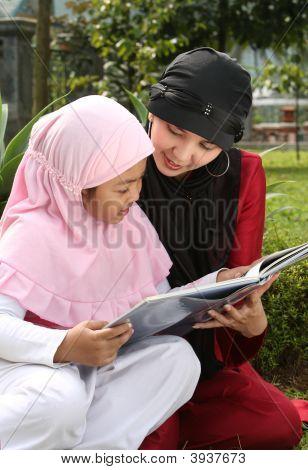 Muslim madre e hijo