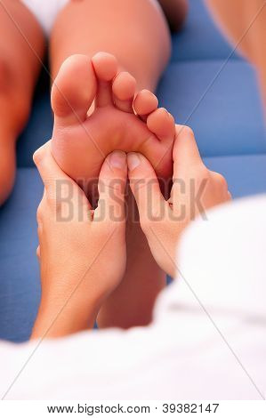 Physiotherapy Foot Reflexology