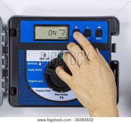 Adjusting Water Sprinkler System For Dry Weather