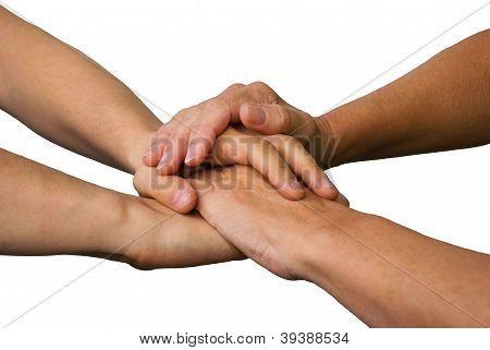 Four Hands Symbolizing Power