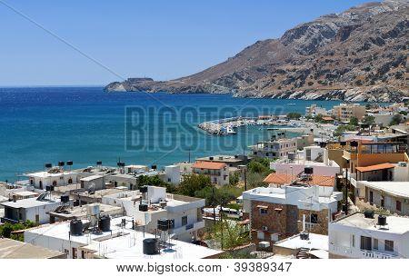 Tsoutsouros village at Crete island