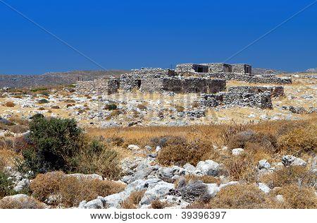 Rural scenery from Crete island , Greece