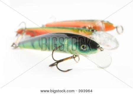 drei Fishing lures