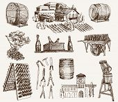 foto of sparkling wine  - the production of sparkling wines - JPG