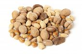 image of brazil nut  - Fresh Organic Mixed Nuts including Walnuts Almonds Hazelnuts Brazil Nuts - JPG