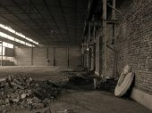 picture of gory  - derelict factory in Tarnowskie Gory  - JPG