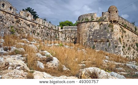 Rethimnon Fortezza - Old Fortress In Greece