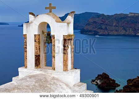 The Roof Of Santorini Orthodoxy Church