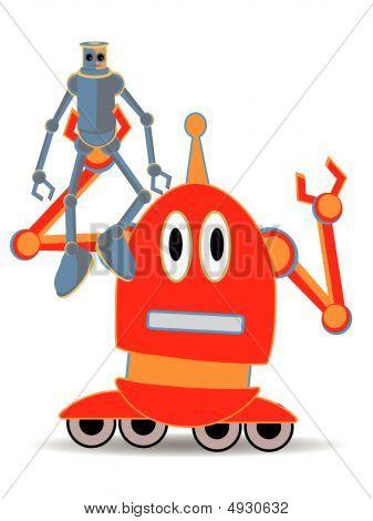 Robot Holding Robot